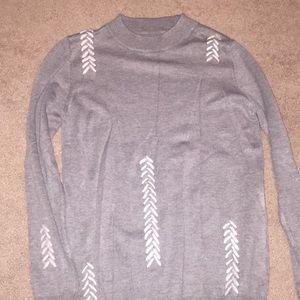 Beautiful gray sweater